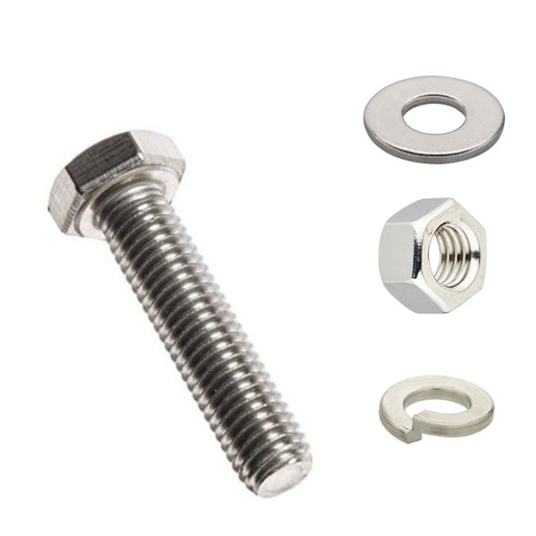 SS Nut Bolt Washers Stainless Steel Fasteners